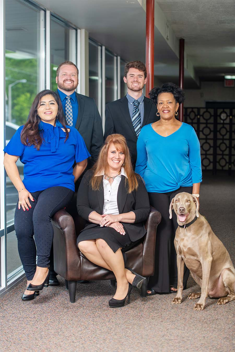 About Our Agency - Portrait of Williams Agency Team Inside Kentucky Office