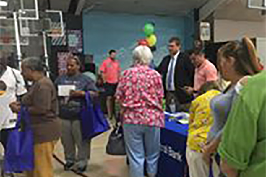 Community Involvement - Seniors Attending Senior Expo Hosted By Williams Agency