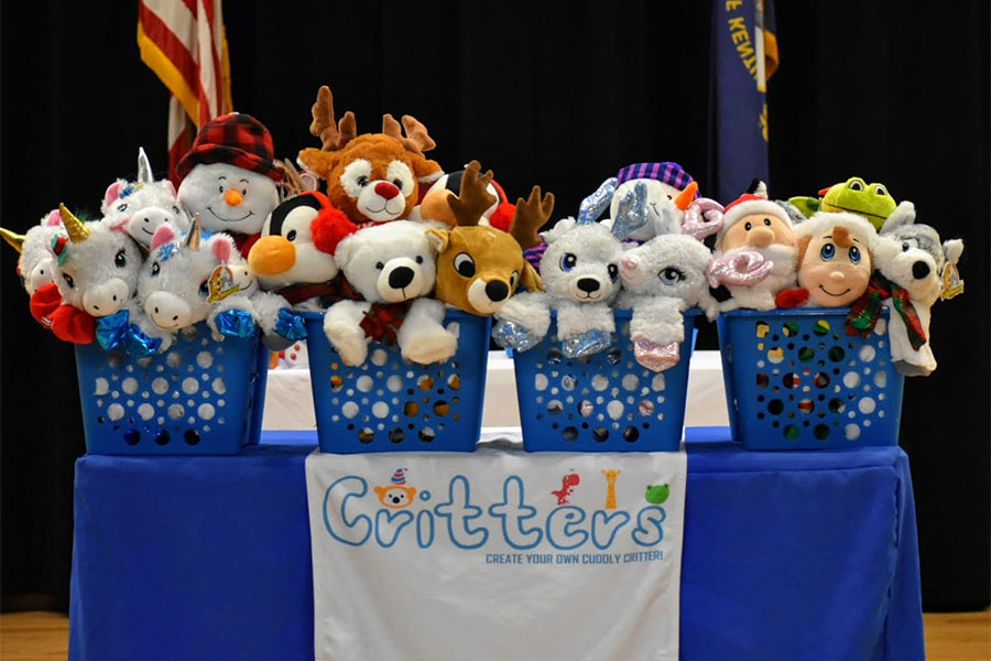 Community Involvement - Stuffed Toys at Sleep Dreams Event
